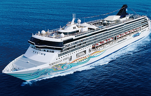 Лайнер Norwegian Spirit