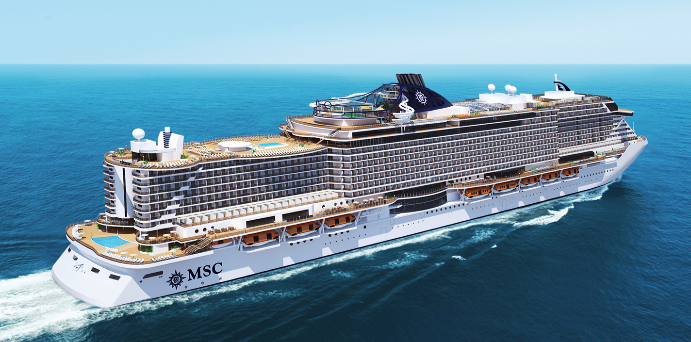 Лайнер MSC Seaview